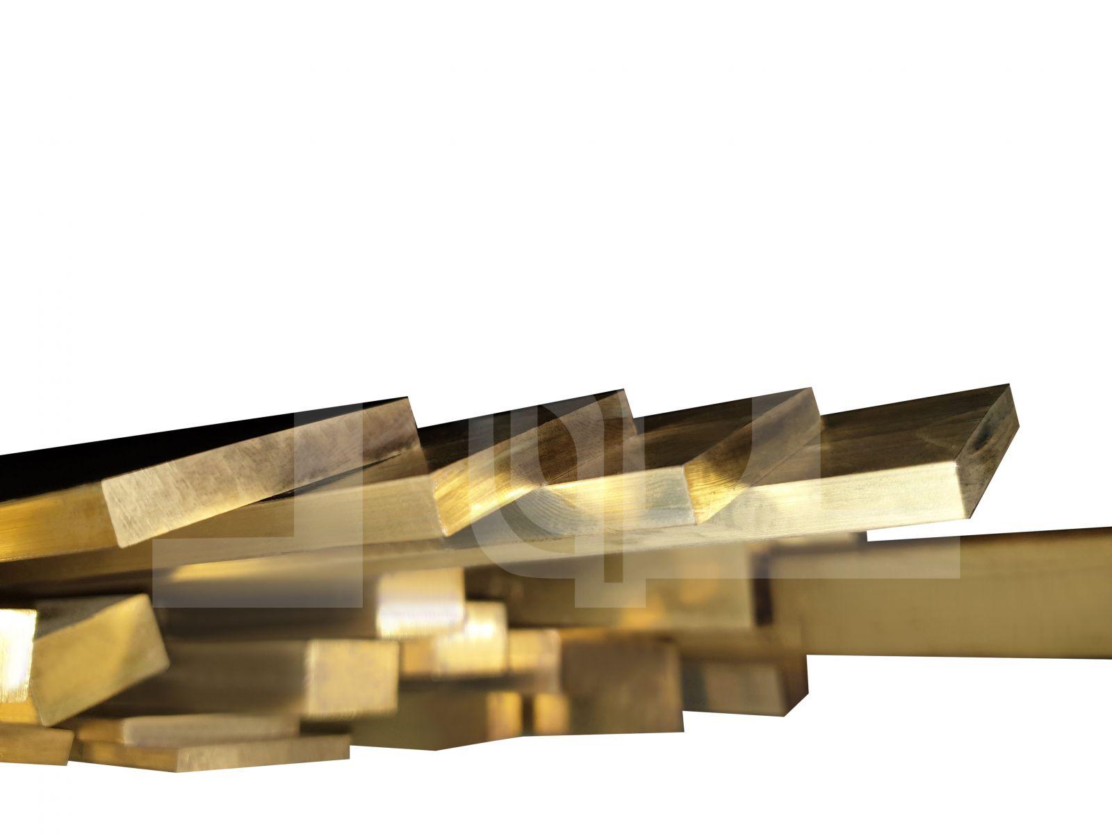 Brass Rectangle Rod