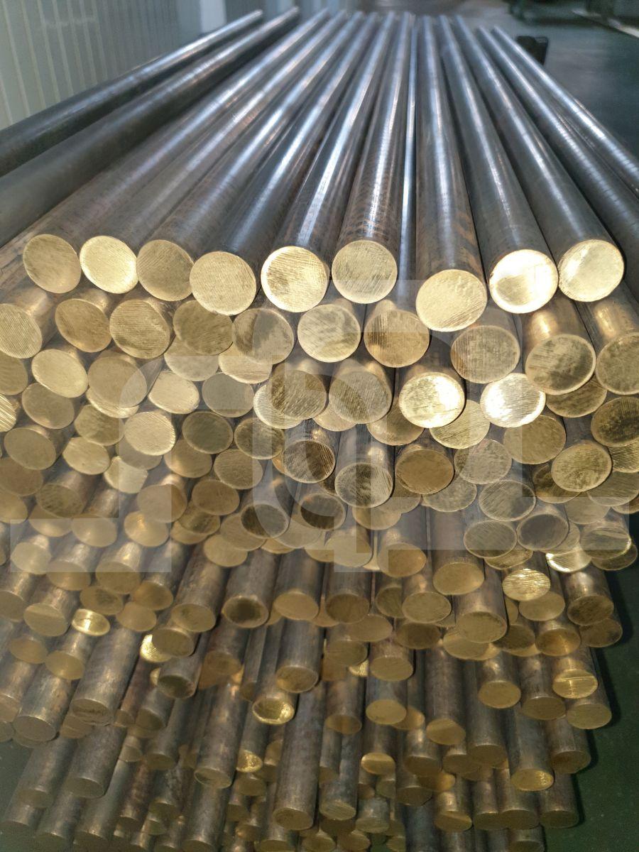 Unpeeled Brass Round Rod