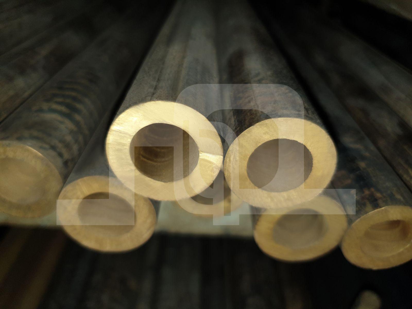 Unpeeled Brass Round Tube