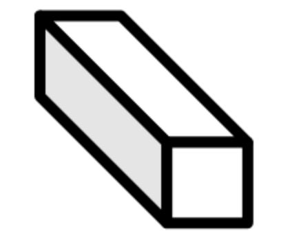 Thau da đen dạng vuông